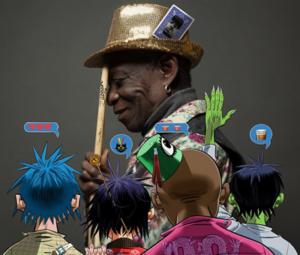 Gorillaz How Far? ft Tony Allen Skepta