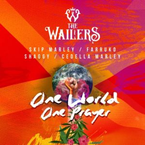 THE WAILERS One World, One Prayer Mayo 2020 Música Nueva Sony Music