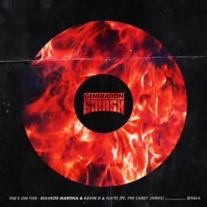 She's On Fire - Stavros Martina & Kevin D & Natel ft. The Carey James