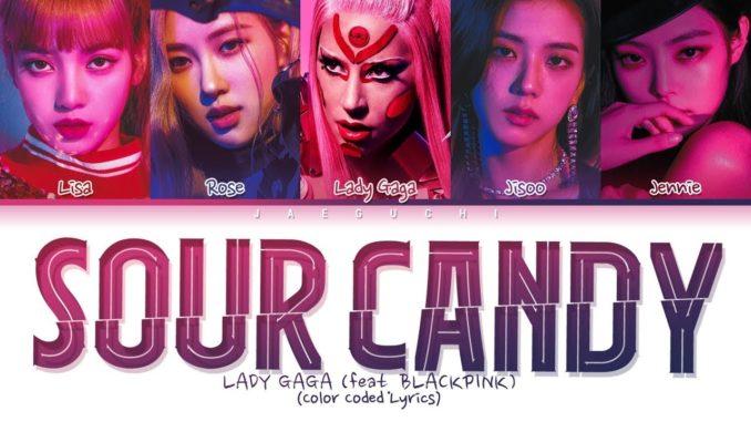Lady Gaga Sour Candy Blackpink musica nueva universal junio 2020