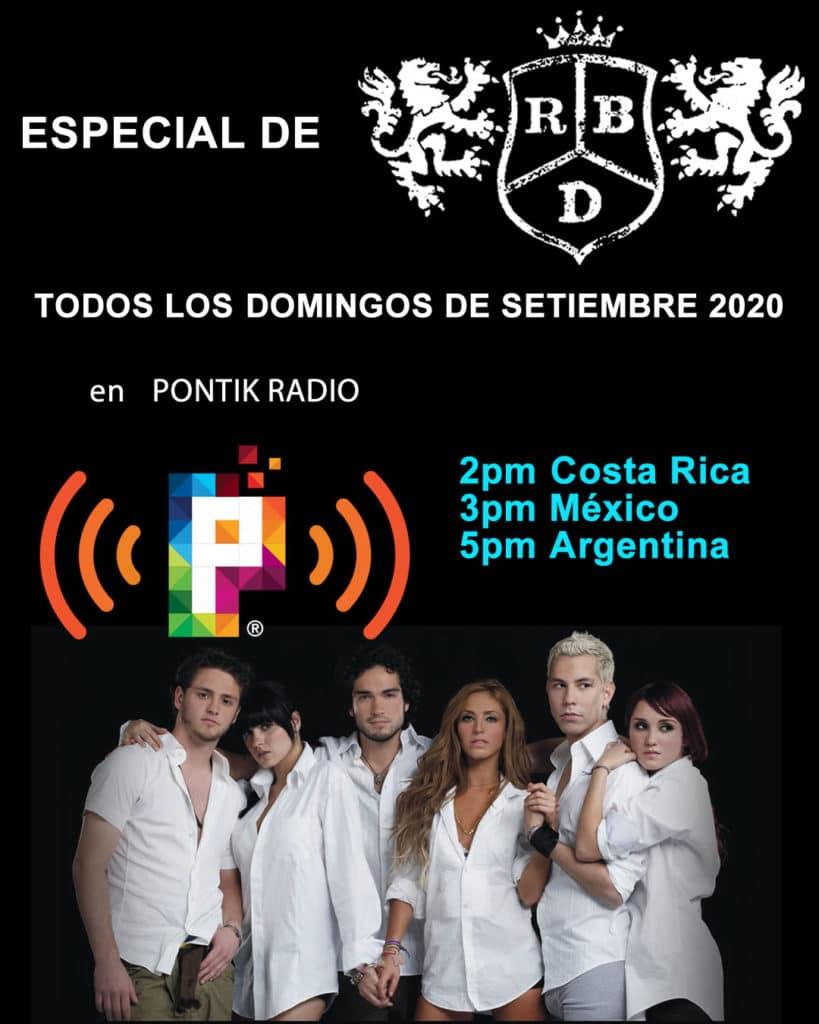 Especial RBD Pontik Radio