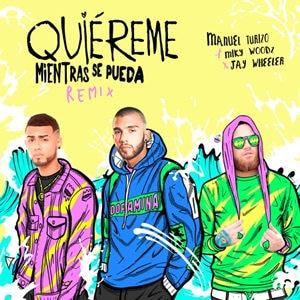 Manuel Turizo, Miky Woodz & Jay Wheeler presentan Quiereme Mientras Se Pueda (Remix)