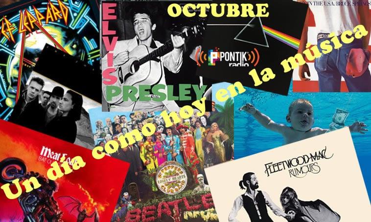 Octubre 1 Hoy en la Música | Historia Musical en Pontik Radio