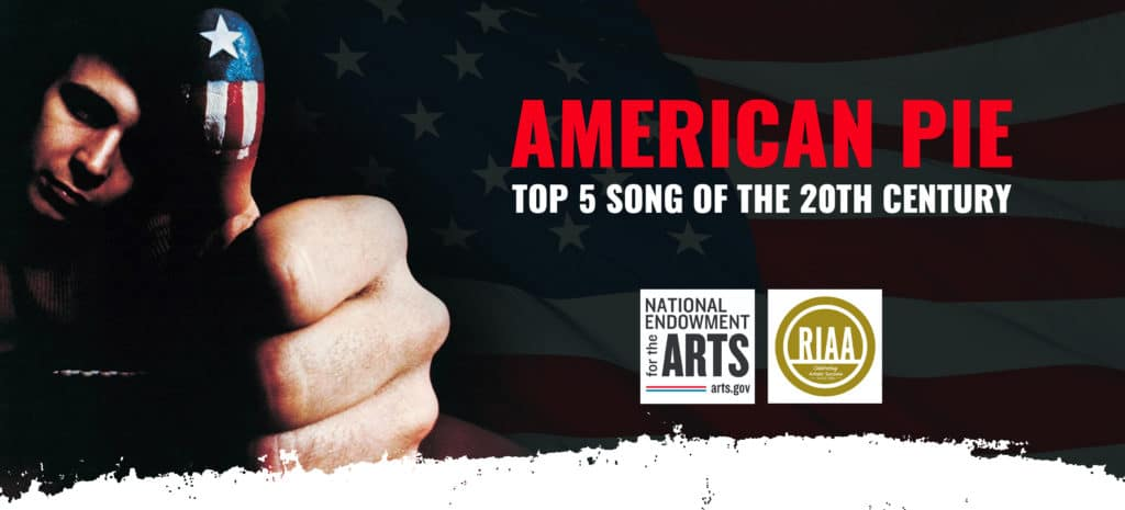 American Pie - quinta canción del siglo XX