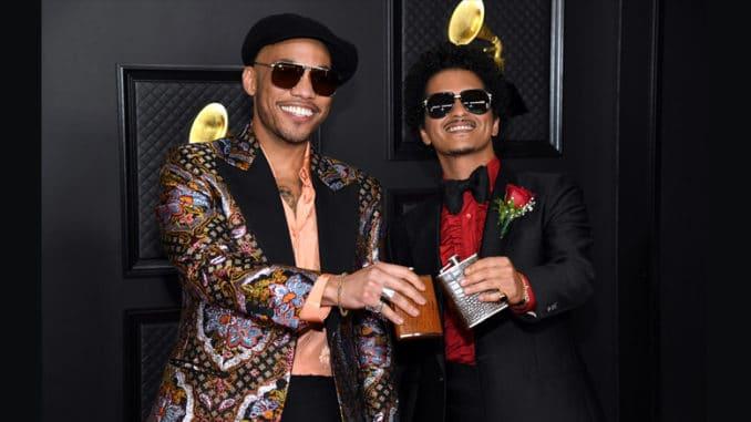 Bruno Mars y Anderson Paak - Grammy Awards