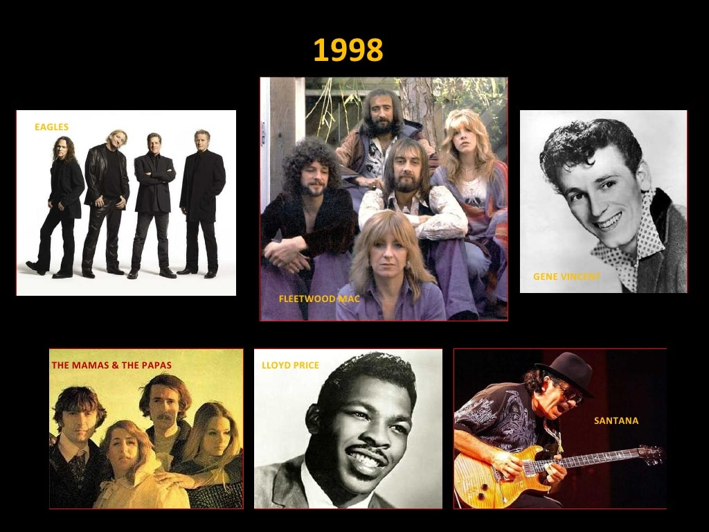 Clase 1998 - Rock and Roll Hall of Fame