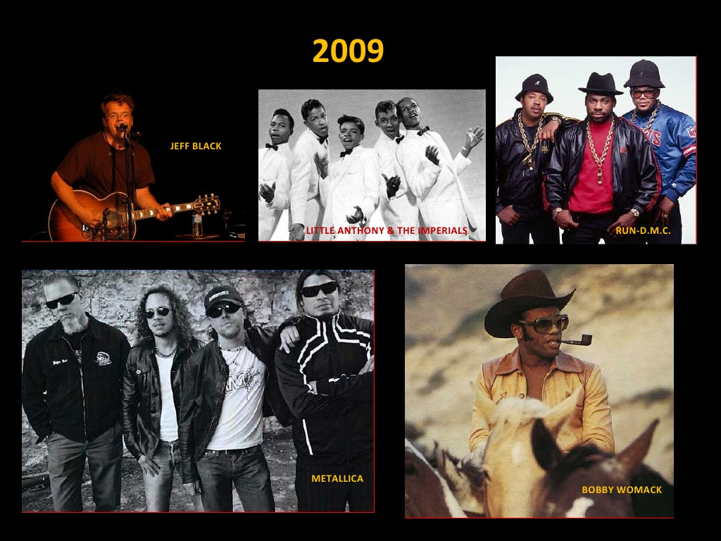 Clase 2009 - Rock and Roll Hall of Fame