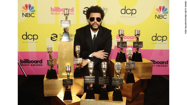 The Weeknd ganó Mejor Artista, Mejor Artista Masculino y Mejor Artista Hot 100 - Premios Billboard Music Awards