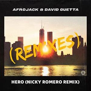 Afrojack and David Guetta - Hero (Nicky Romero Remix) - Julio 300