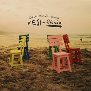 "Camilo y Shawn Mendes - ""Kesi (Remix)"" - julio 2021"