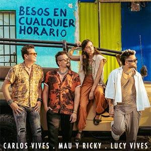 """Carlos Vives - """"Besos en Cualquier Horario"""" (feat Mau y Ricky)"""
