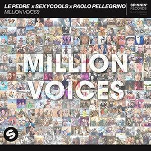 Le Pedre x Sexycools x Paolo Pellegrino - Million Voices - Pontik Radio