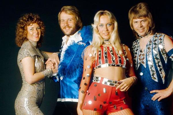 ABBA 1972 Estocolmo, Suecia Pontik® Radio