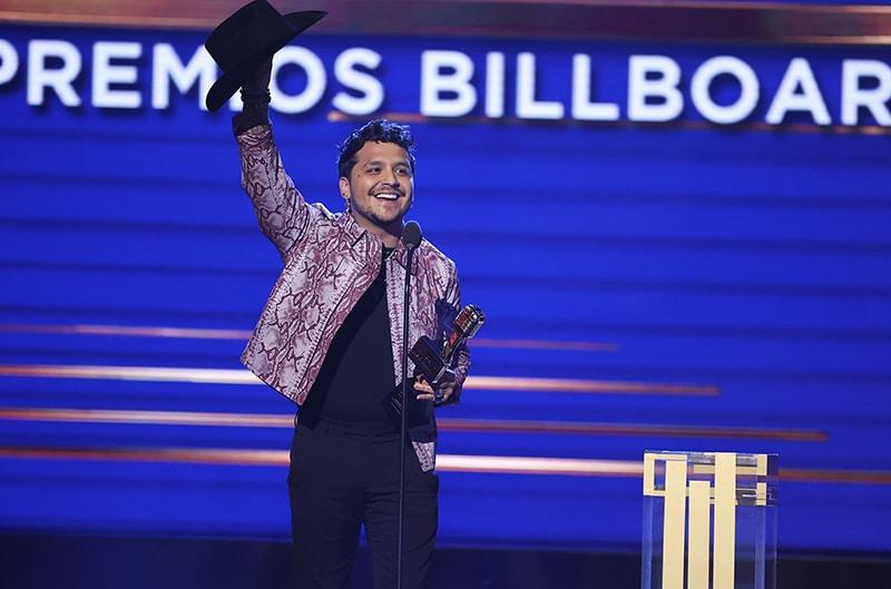Christian Nodal - Premios Billboard de la Música Latina 2021