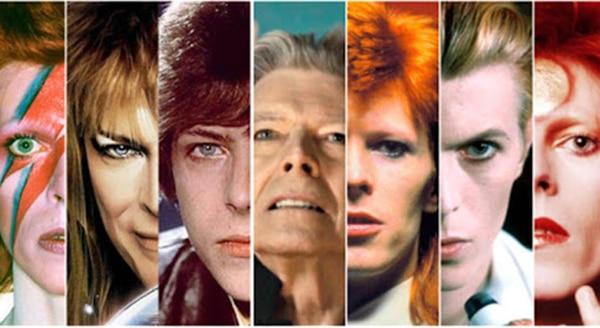 David Bowie - transformaciones