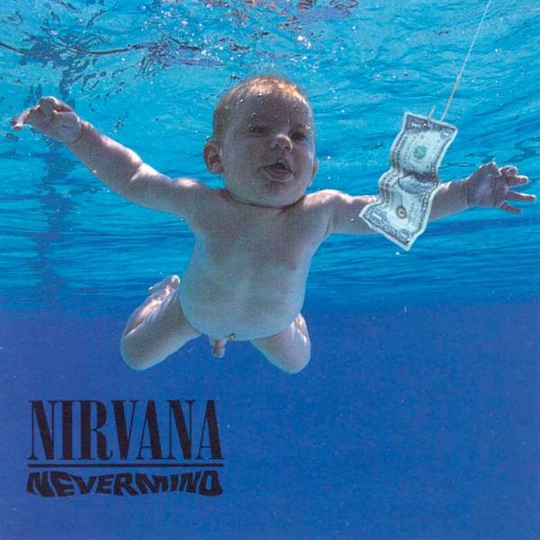 Nirvana - Nevermind (1991) - portada original