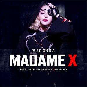 """Madonna – """"Madame X"""" (Music from the Theater Xperience) Ya está disponible la banda sonora de la película """"Madame X"""" de Madonna, que contiene 20 poderosas presentaciones en vivo, que abarcan diferentes épocas de la célebre carrera de Madonna, incluyendo su noveno álbum de estudio # 1, titulado: """"Madame X"""". MADAME X – MUSIC FROM THE THEATER XPERIENCE está disponible ahora en todas las plataformas de descarga y streaming digital. La película conceptual y la banda sonora complementaria fueron grabadas en enero del 2020 en Lisboa, Portugal, durante la gira Madame X Tour de Madonna. Fue la primera vez que Madonna actuó en vivo en lugares más pequeños desde su gira Virgin Tour de 1985. Se incluyó canciones como: """"Dark Ballet,"""" """"I Rise,"""" y """"I Don't Search I Find"""", que encabezó la lista de Hot Dance Club Songs, en el 2020 para convertirse en su 50° éxito # 1. Incluye versiones en vivo de sus éxitos mundiales: """"Vogue,"""" """"Human Nature,"""" """"Like A Prayer,"""" y """"Frozen"""" - Pontik® Radio"""